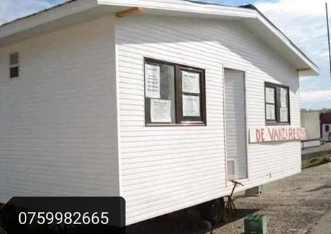 Case locuibile din containere tip birou modulare la super preț