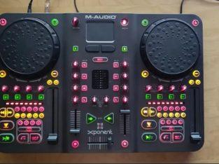 Consola m-audio xponent controller mixer dj