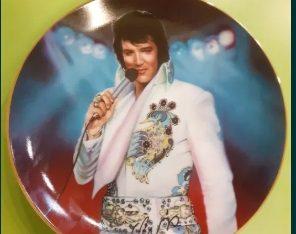 Platou porțelan – Elvis Presley – ediție limitată