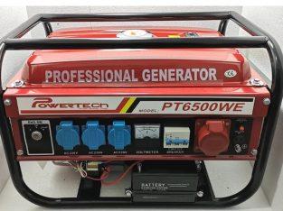 Generator Curent – PowerTech – 2,5KW – 12/220/380V – Pornire la CHEIE