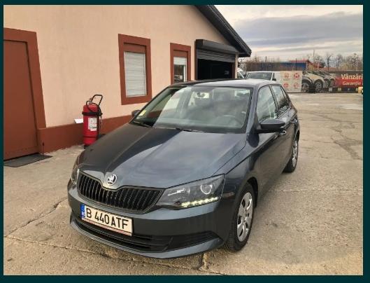Inchirieri auto – rent a car BUCURESTI – SKODA FABIA III