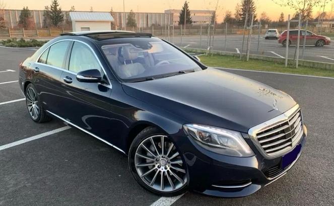 Mercedes S 350 CDI 4matic euro 6. Night VISION 4 Butoane