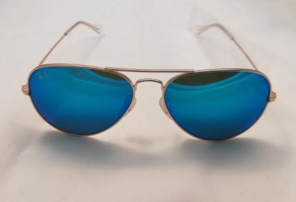 Ochelari de soare Ray Ban Aviator – lentila Albastra oglinda