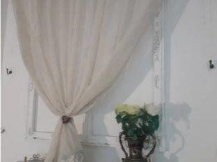 Perdea bordura bleo Vitraj Atelier Deco