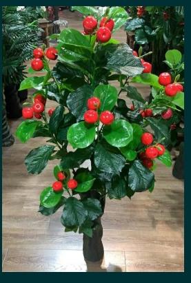 Pom/Planta artificiala,decoratiune,mandarin,mere in ghiveci