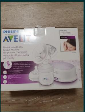 Pompa de san Philips Avent electric