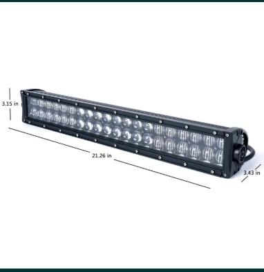 Proiector LED BAR off road 120W 5D NEW – Proiectoare LED auto