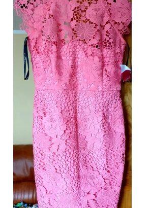 Rochie de dama cu broderie mărimea 10 uk 38 superba Asos zara
