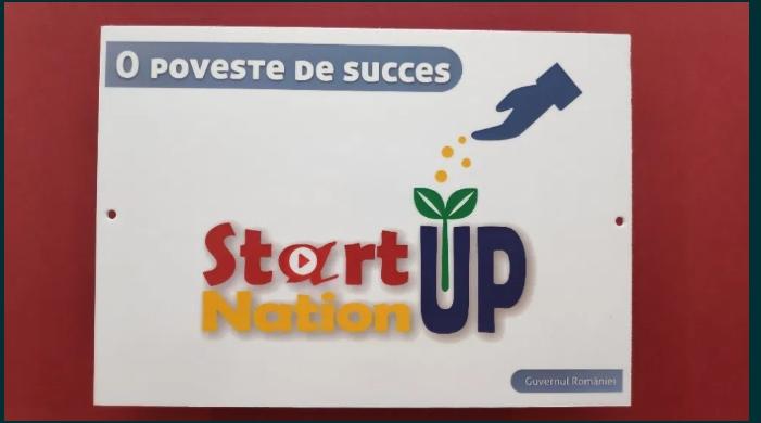 Placute informative START-UP NATION