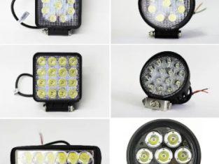 Proiectoare LEDuri auto off road – Proiector LED bec halogen
