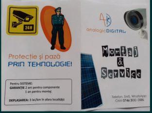 Camere supraveghere, Automatizări porti, Sisteme fotovoltaice