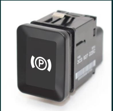 Buton frana de mana NOU actionare electrica parcare VW Passat B6 B7 CC