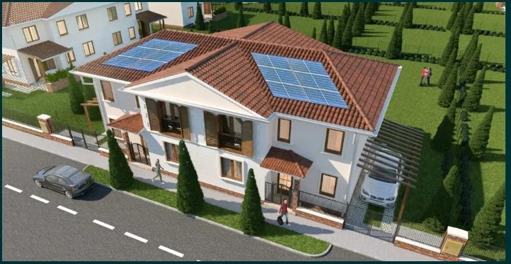 Casa de vanzare independentă energetic în Arad- cartier Grădiște