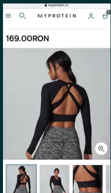 Haine sport colanti maiou bluza Nike Puma My Protein H&M Reebok femei