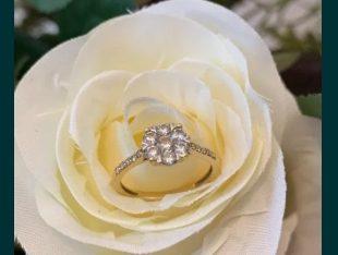 Inel cu diamante aur 18K Teilor Marimea 48