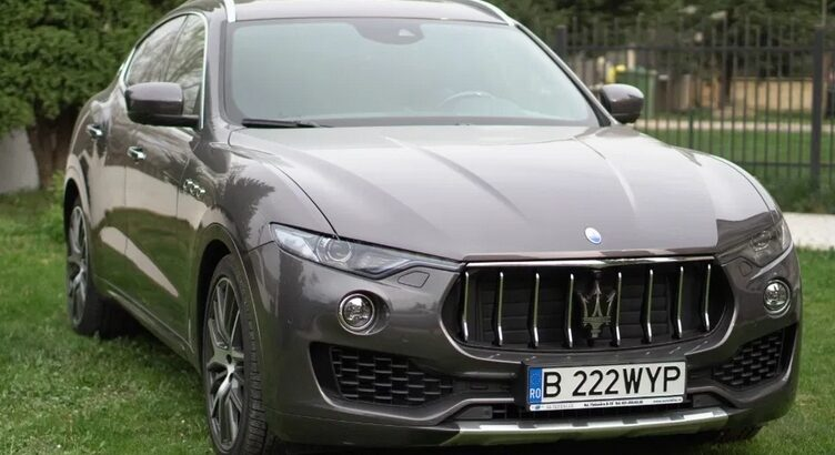 Maserati Levante S – 430 cai putere – an fabricatie 2017