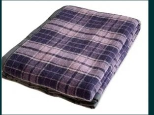 Patura Stefania 80% lana, 2,15 kg, 150X200 cm, culoare mov