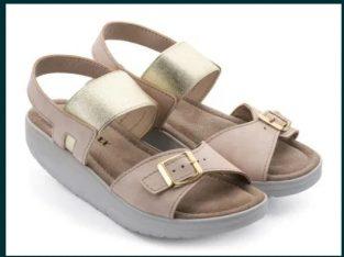 Sandale noi Walkmaxx piele mar 38