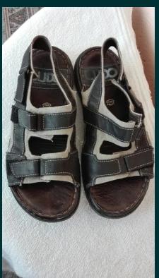 Sandale bărbați piele Ludo nr 42