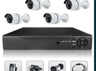 Sistem Supraveghere Video 2 MP 4 / 8 Camere AHD & DVR Kit Exterior