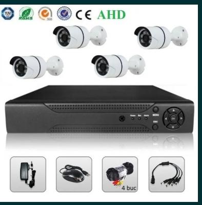 Sistem Supraveghere Video 2 MP 4 / 8 Camere AHD & DVR Kit Exterior