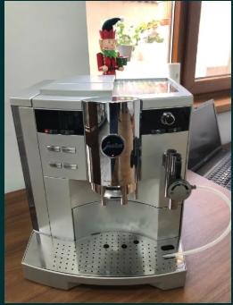 Espressor expresor aparat de cafea JURA IMPRESSA S9 one touch capucino