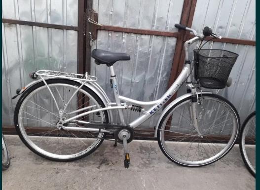 Bicicletă de damă pe 28 cu 7 viteze în butuc din aluminiu