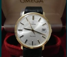 Ceas Aur masiv 14 K Omega Geneve Calibru 1030.