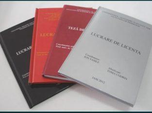 Consultanță/sfaturi/verificări licență/disertație