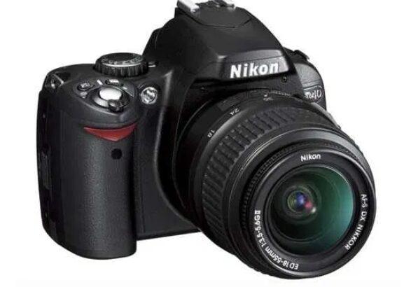 Nikon d40 kit si 3 baterii noi