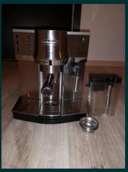Expresor cafea, latte, capucino, ceai Delonghi stare buna