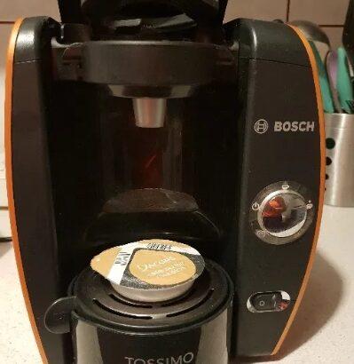 Esspresor tassimo fidelia bosch portocaliu perfect cafea jacobs CA NOU