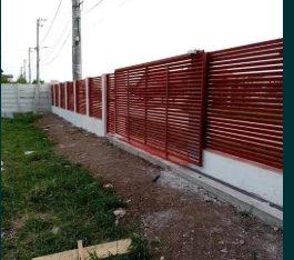 Realizam garduri și porți stil jaluzele, fier forjat, șipcă, tablă