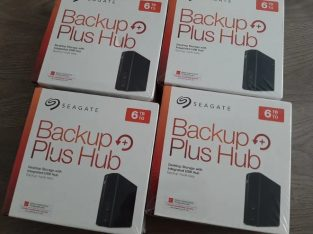 NOU,SIGILAT,GARANTIE 2 ANI Hard disk extern 6TB USB 3.0 Seagate HUb
