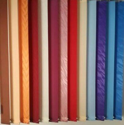 Jaluzele verticale, rolete textile