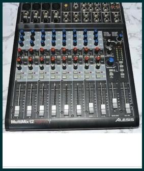 Mixer audio Alesis Multimix 12Fx firewire
