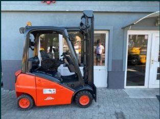 Motostivuitor Linde H16D-01, An 2012, 1.6 tone, Catarg duplex
