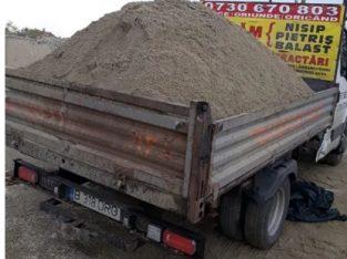 Livram 4 mc nisip,balast,piatra de drum MOGOSOAIA/CHITILA/RUDENI