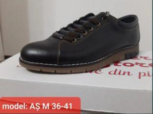Pantofi pentru copii piele naturala