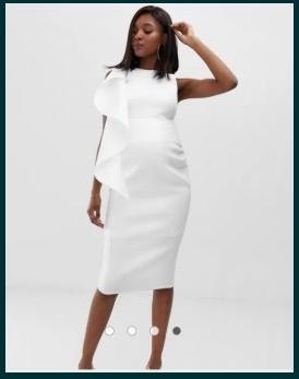 Rochie ocazie eleganta gravide ASOS