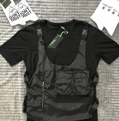 Tricou mafiot de tip vesta anti-glont 4 modele, stil Vagabond