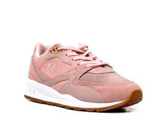 Pantofi sport dama tip Sneakers, piele naturala intoarsa, R800 W – Le Coq Sportif