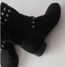 Cizme negre de damă