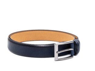 Curea barbat 004 piele naturala, bleumarin – Real Leather