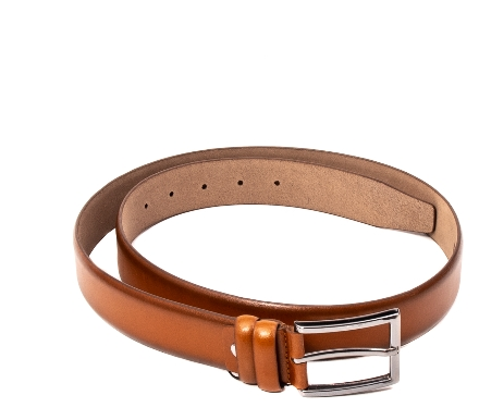 Curea barbat, piele naturala, coniac – Real Leather