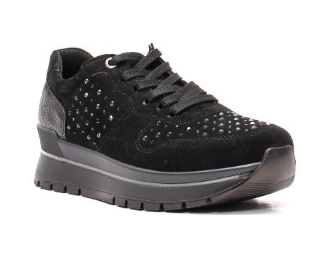 Pantofi dama casual, piele naturala intoarsa, IC608360 – IMAC