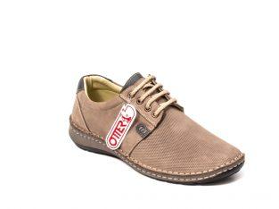 Pantofi barbat casual, piele naturala, OT 9551 14-2 – Otter