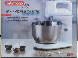 Delimano joy – mixer compact cu bol rotativ, 300W