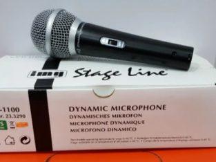 Microfon profesional dinamic Stage Line DM-1100 pentru Karaoke sau DJ
