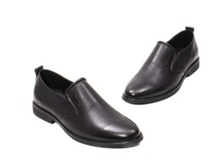 Pantofi barbati eleganti, piele naturala, E6Y99390B – Otter